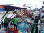 Trà Vinh: Ngư dân khẩn trương vươn khơi đầu năm mới