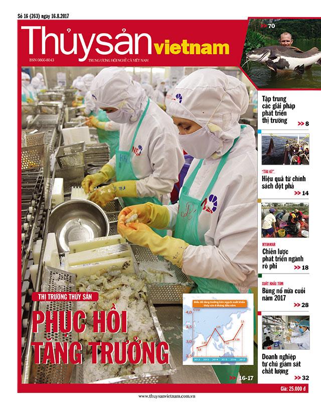 Thủy sản Việt Nam số 16 - 2017 (263)