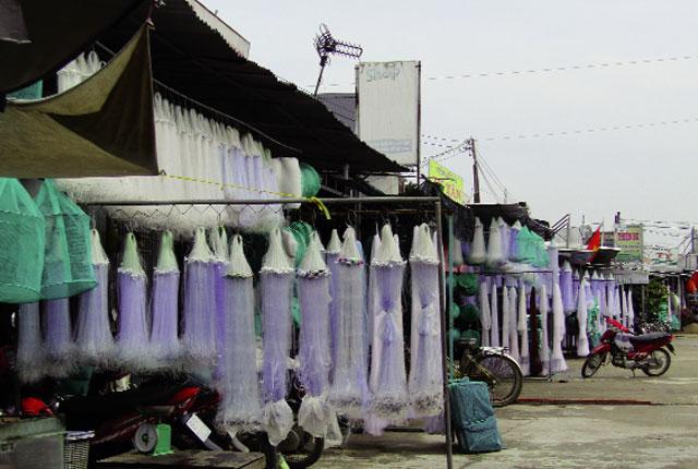 Cần Thơ: Nhộn nhịp làng lưới Thơm Rơm