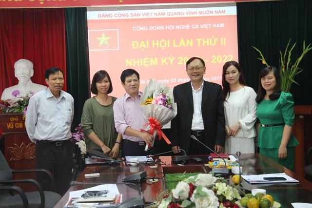 Đại hội Công đoàn Hội Nghề cá Việt Nam nhiệm kỳ 2017 - 2020