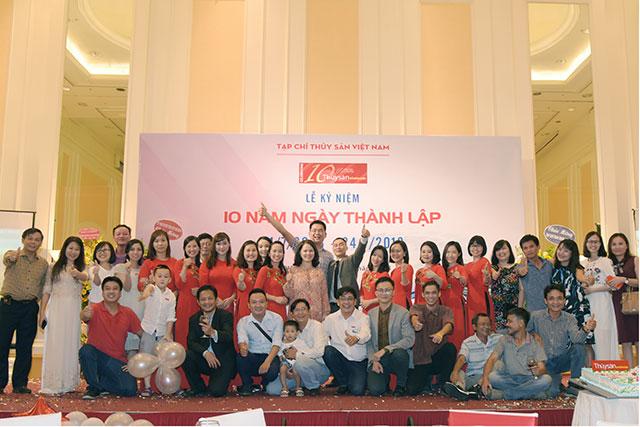 10 năm Tạp chí Thủy sản Việt Nam: Lễ kỷ niệm đáng nhớ