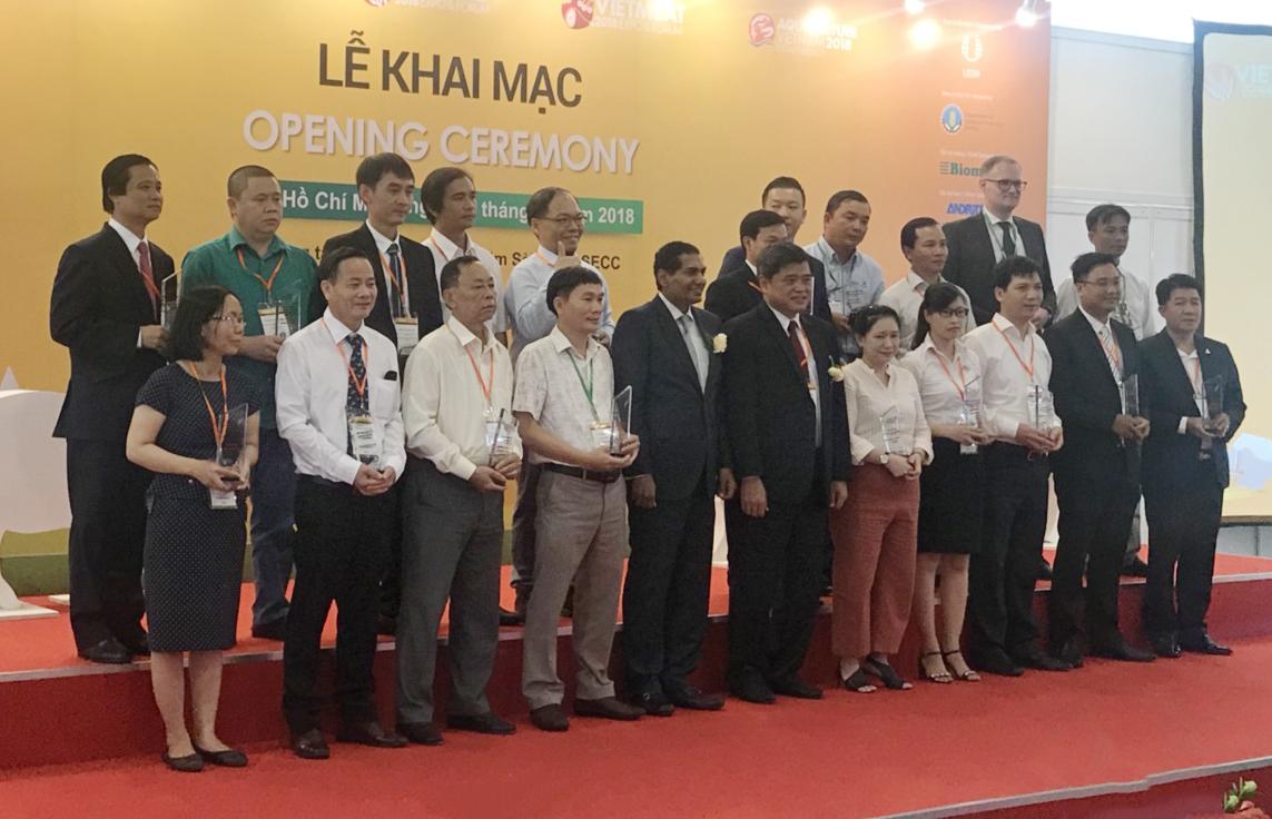 Uni-President Việt Nam nhận giải thức ăn thủy sản tốt nhất
