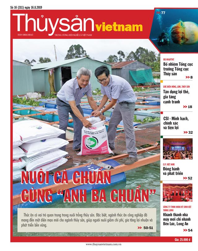 Thủy sản Việt Nam số 16 - 2019 (311)