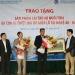 Sitto Việt Nam: Trao tặng sản phẩm cho bà con nuôi tôm bị thiệt hại do mưa lũ