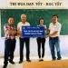 Công ty Sando: Tặng 1.000 cuốn vở cho học sinh tại Bến Tre
