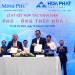 Minh Phú, Tiền Phong, Hòa Phát hợp tác phát triển ngành tôm