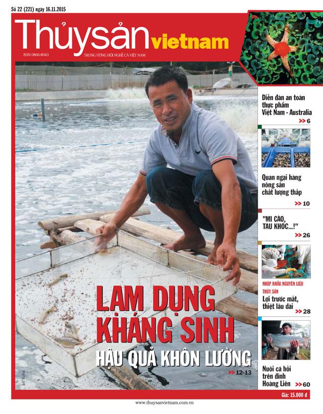 thủy sản việt nam số 22 - 2015