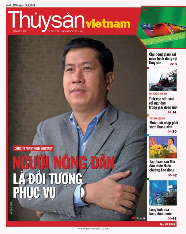Tạp chí Thủy sản Việt Nam số 6 - 2016