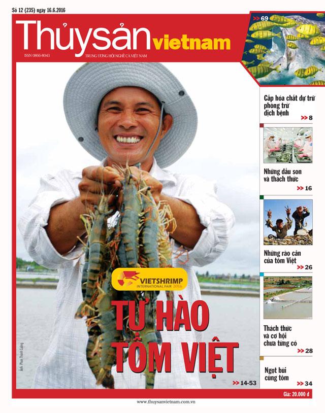 tạp chí thủy sản việt nam số 12 - 2016