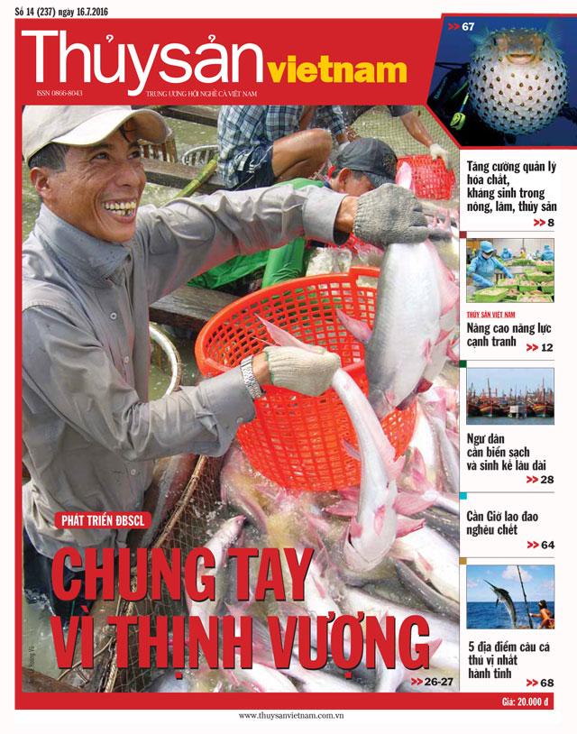 tạp chí thủy sản việt nam số 14 - 2016