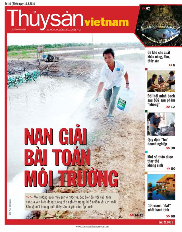 tạp chí thủy sản việt nam số 16 - 2016