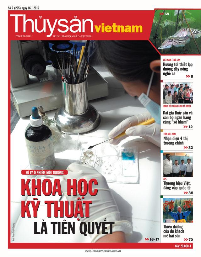 Tạp chí thủy sản Việt Nam số 2 - 2016