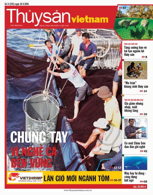 tạp chí thủy sản việt nam số 8 - 2016