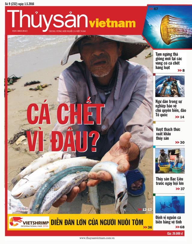 tạp chí thủy sản việt nam số 9-2016