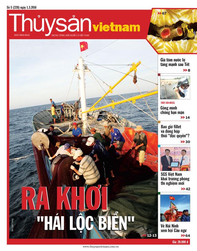 Tạp chí Thủy sản Việt Nam số 5-2016