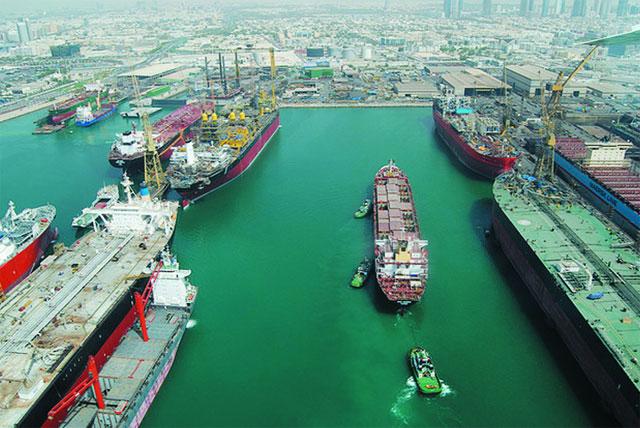 cảng Jebel ali - Dubai