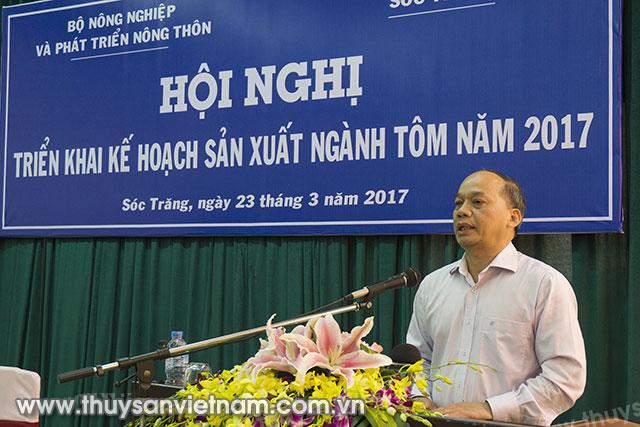 Thứ trưởng Bộ NN&PTNT Vũ Văn Tám phát biểu tại hội nghị