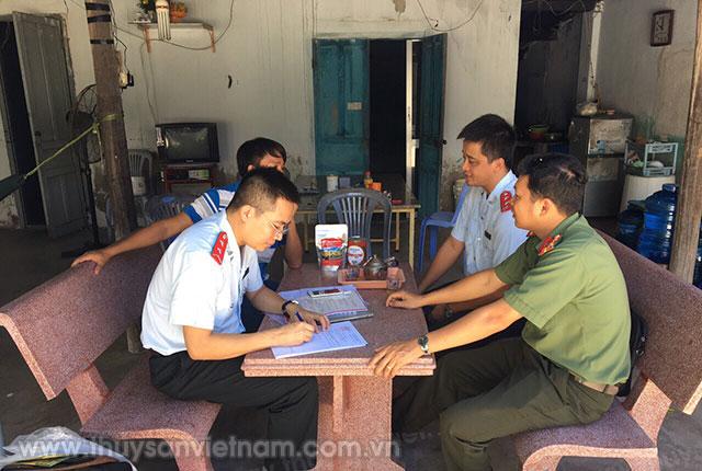 Tiến hành thanh tra đột xuất đối với Công ty TNHH Sản xuất và Kinh doanh Giống thủy sản Huy Thắng