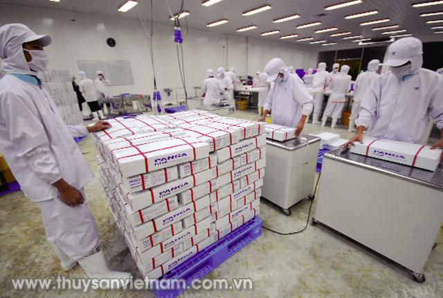 Sản phẩm được bảo quản tối ưu trong kho lạnh     Ảnh: LHV
