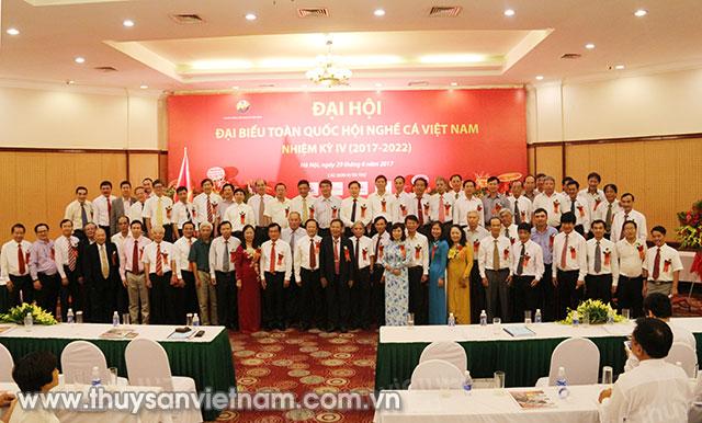 Hội Nghề cá Việt Nam đã tổ chức Đại hội nhiệm kỳ IV (2017 - 2022) tổng kết hoạt động nhiệm kỳ III (2012 - 2016) tại Hà Nội