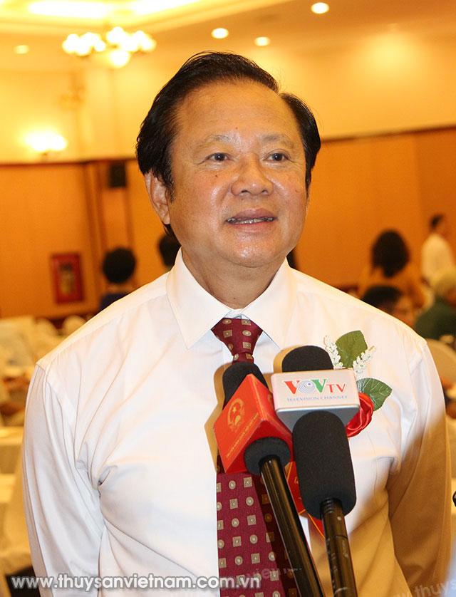 Ông Nguyễn Việt Thắng, Chủ tịch Hội Nghề cá Việt Nam