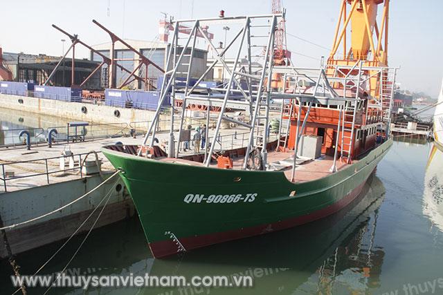 Tăng cường đảm bảo an toàn kỹ thuật đối với tàu cá, công tác duy tu sửa chữa tàu cá vỏ thép theo quy định