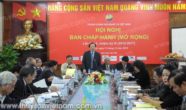 Ban chấp hành Hội Nghề cá Việt Nam 2015