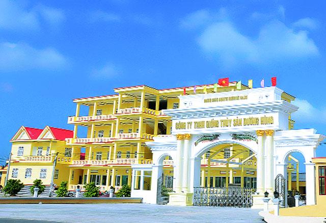 Trụ sở Công ty TNHH Giống Thủy sản Dương Hùng ở Bạc Liêu