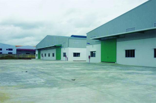 Xưởng sản xuất thức ăn thủy sản của Công ty