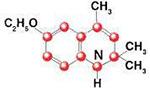 Cấu trúc hóa học của Ethoxyquin